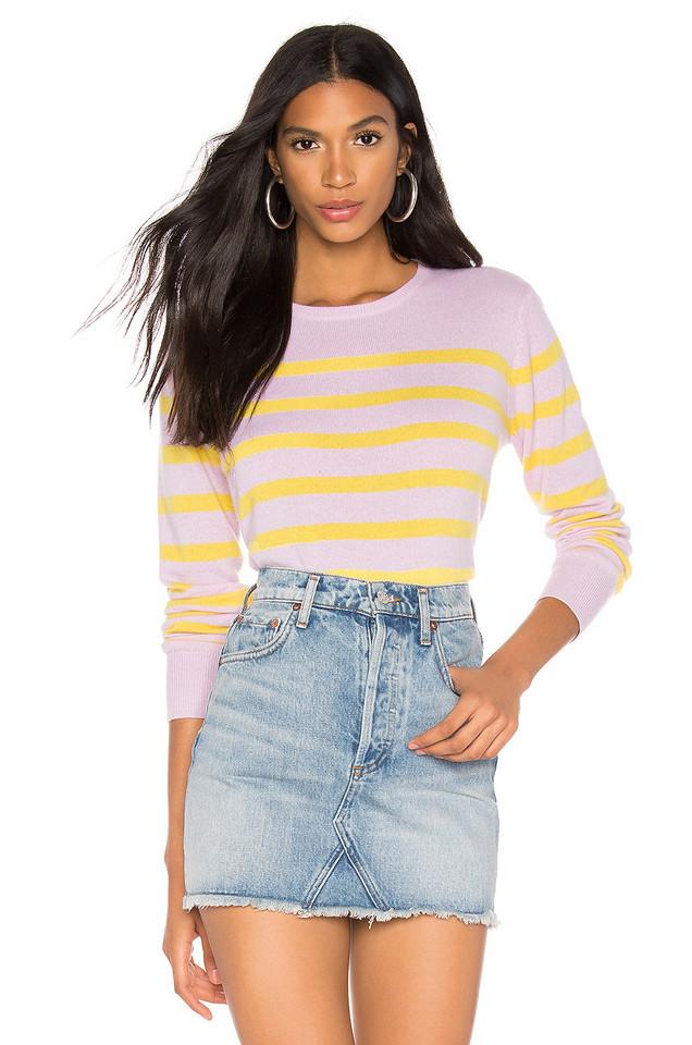 Kule The Skate Sweater in pink