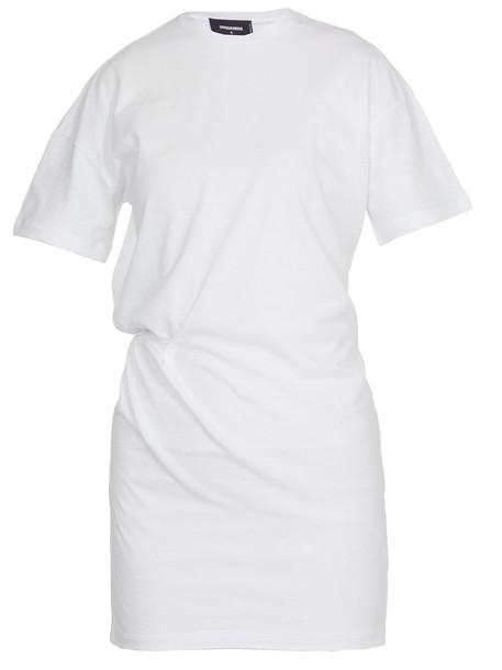 Dsquared2 Mini Dress in white