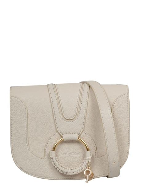 See by Chloé See By Chloé Medium Hana Shoulder Bag in beige / beige