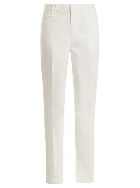 Toga - Mid Rise Straight Leg Jeans - Womens - White