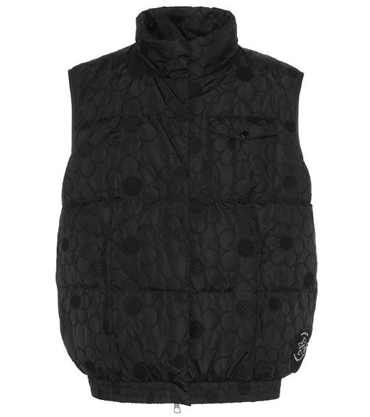 Moncler Genius 4 MONCLER SIMONE ROCHA Sash vest in black