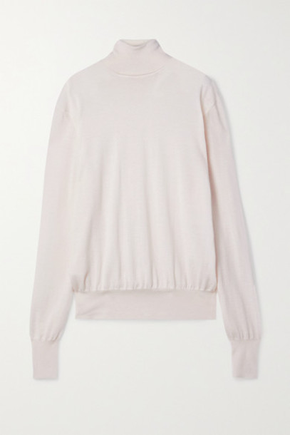 The Row - Andrett Cashmere Turtleneck Sweater - Ivory