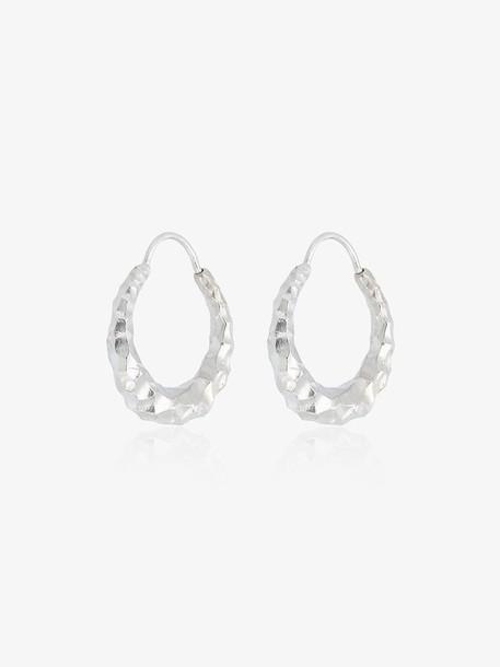 All Blues Sterling Silver Baby Snake earrings