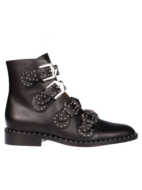 Givenchy Elegant Flank Ankle Boots in black