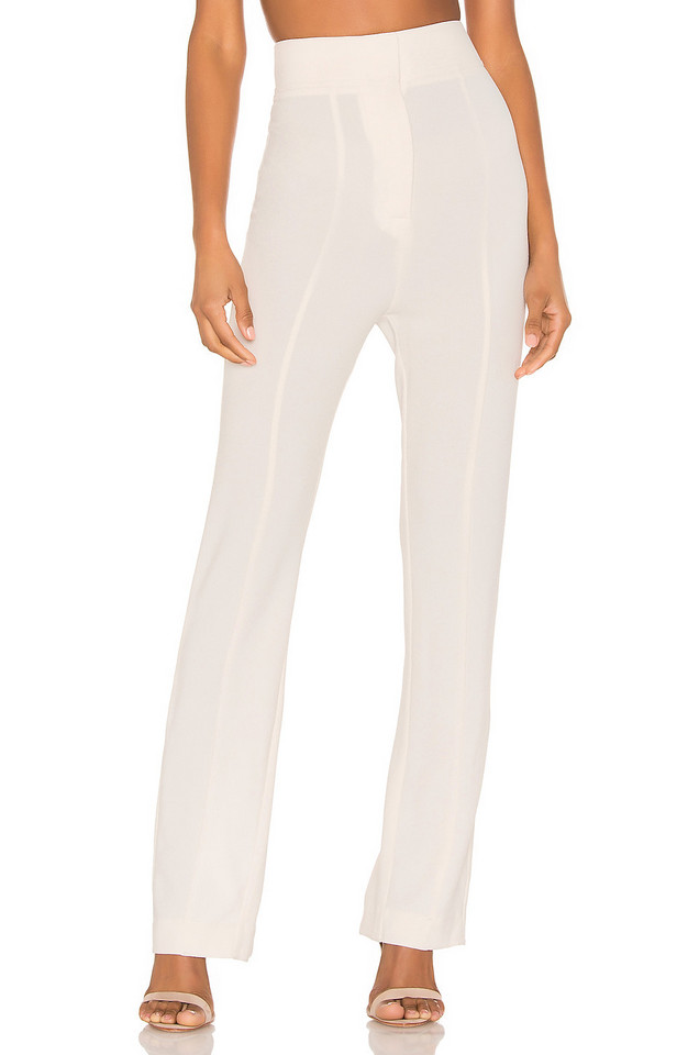 C/MEO High Heart Pant in white