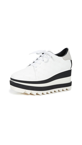 Stella McCartney Sneakelyse Lace Up Shoes in white