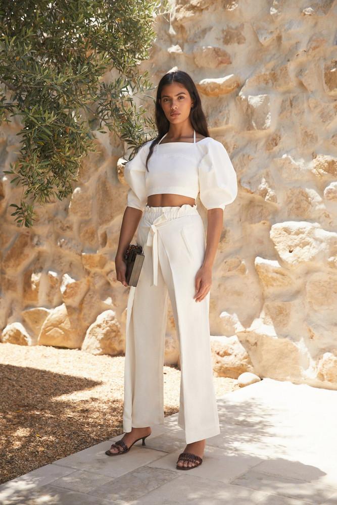 Cult Gaia Naomi Pant - Off White (EXCLUSIVE)                                                                                               $398.00