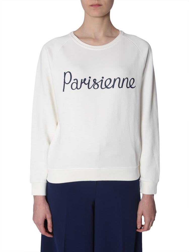 Maison Kitsuné Maison Kitsuné Parisienne Print Sweatshirt