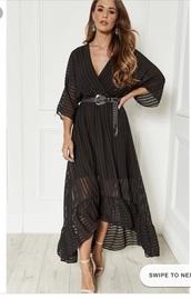 dress,black plunge dress silk fred