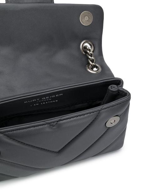 Kurt Geiger London mini Kensington X bag in grey