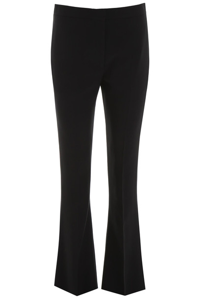 Alexander McQueen Flare Trousers in black