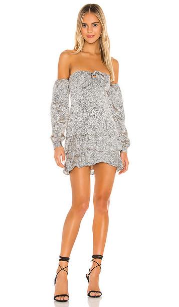 MAJORELLE Lyria Dress in Tan