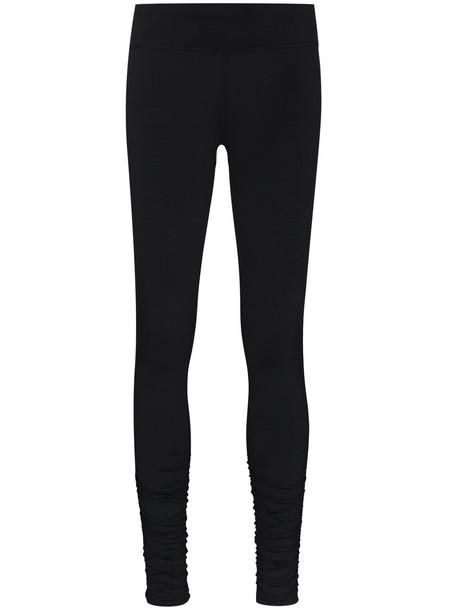 Sweaty Betty ruched-detail performance leggings - Black