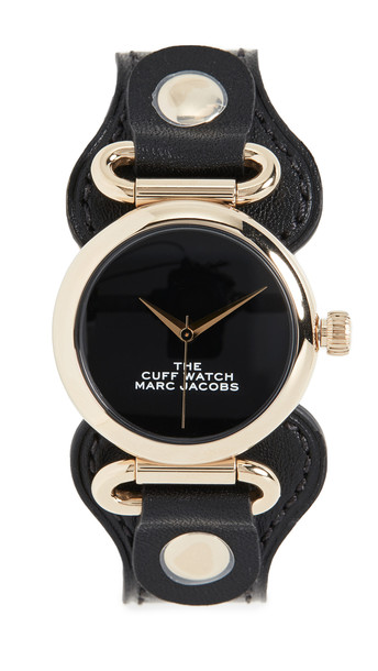 The Marc Jacobs The Cuff Watch 36mm in black
