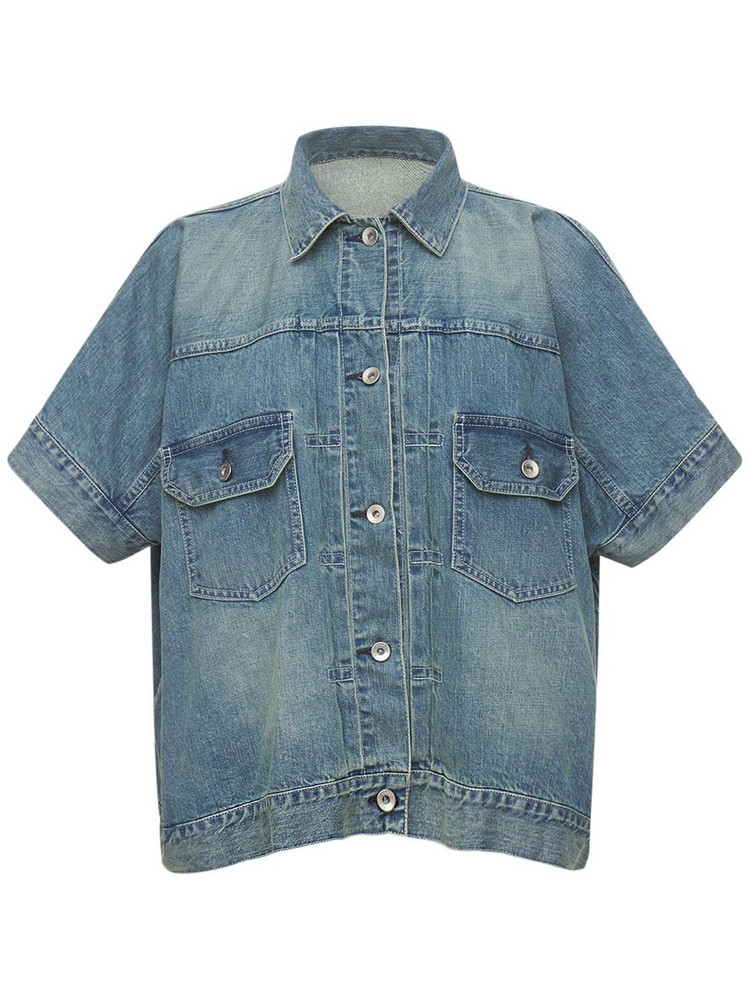 SACAI Cotton Denim Shirt
