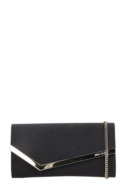 Jimmy Choo Emmie Clutch in black
