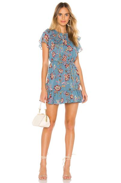 Tularosa Lara Dress in blue