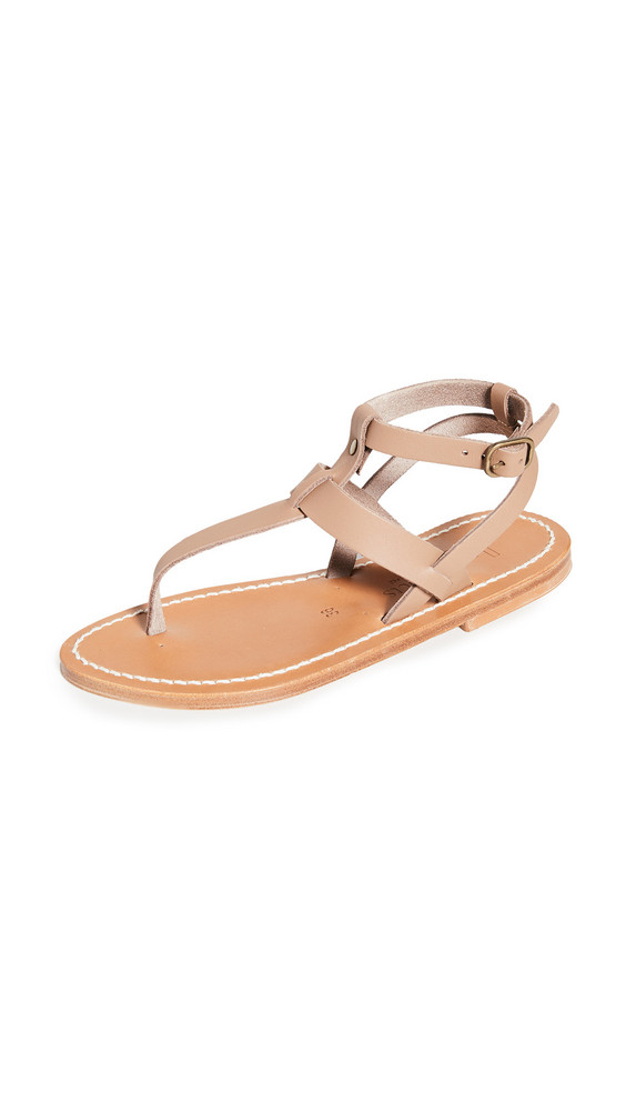 K. Jacques Kepri Sandals in taupe