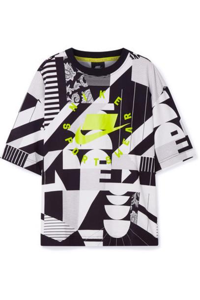 Nike - Oversized Printed Cotton-jersey T-shirt - White