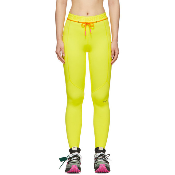 Nike Yellow Off-White Edition NRG Utility Leggings