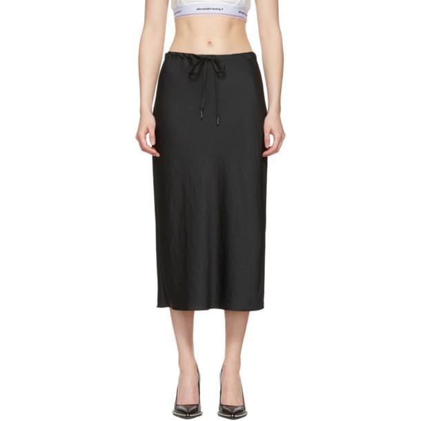 alexanderwang.t Black Wash & Go Light Skirt