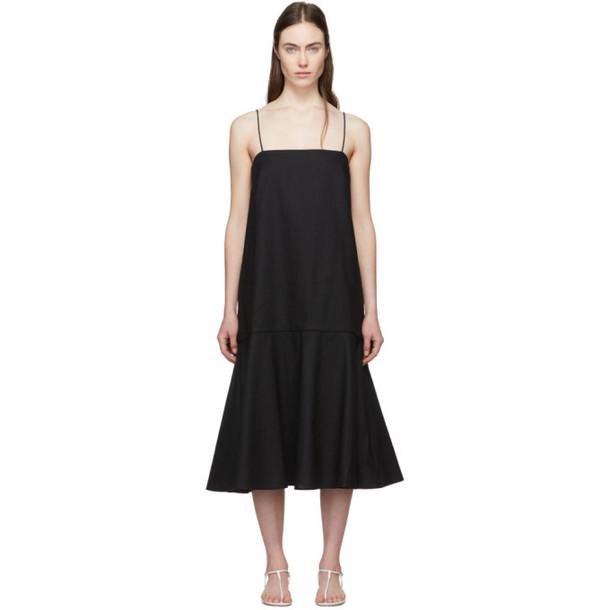 Totême Black Andorra Dress