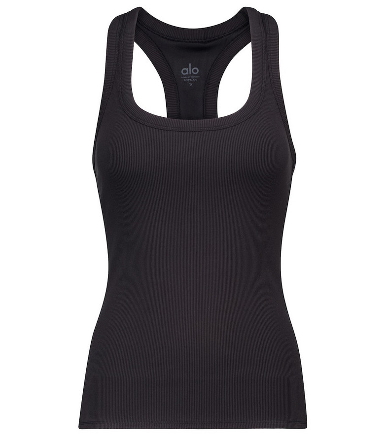 Alo Yoga Rib Support tank top in black