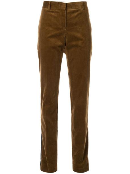 Nº21 slim-fit trousers in brown