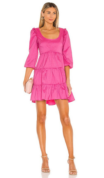 LIKELY Avena Dress in Pink in rose