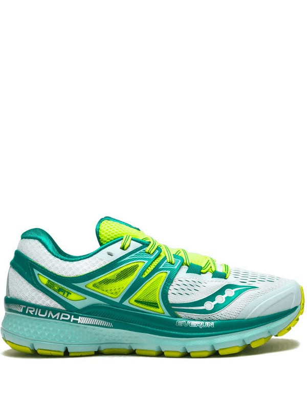 Saucony Triumph ISO 3 sneakers in green