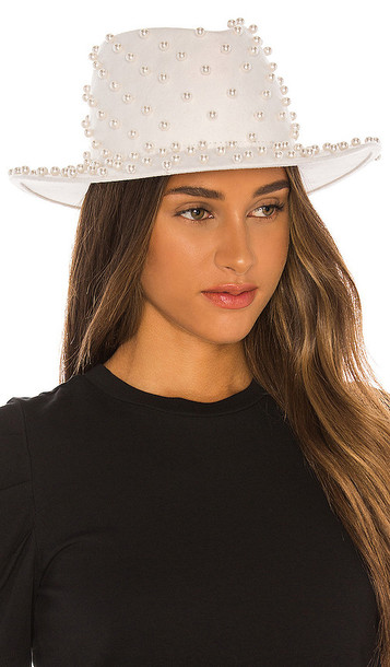 Eugenia Kim Runway Walker Hat in White