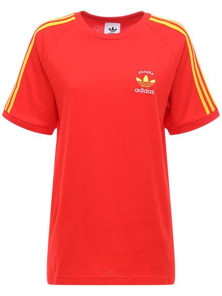 ADIDAS ORIGINALS 3-stripes Spain T-shirt in red