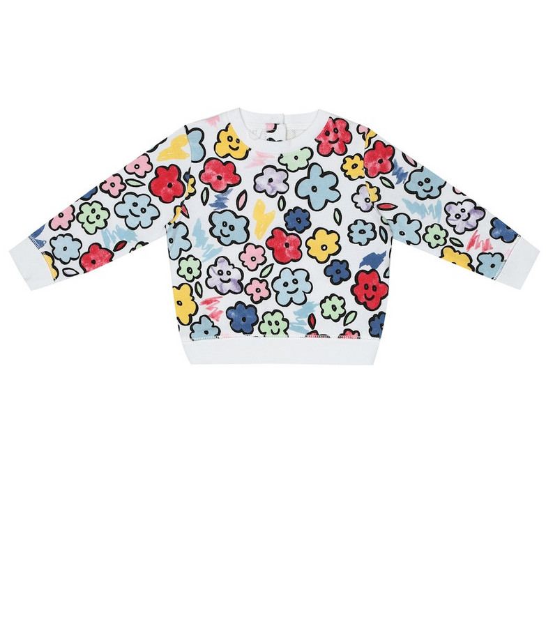 Stella McCartney Kids Baby printed cotton sweatshirt
