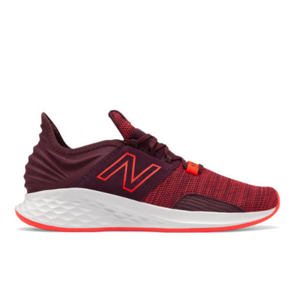 New Balance Fresh Foam Roav Knit Men's Neutral Cushioned Shoes - Purple/Red (MROAVKE)