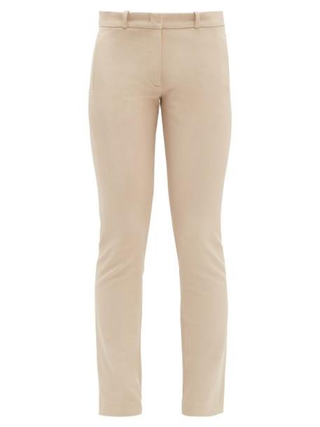 Joseph - New Eliston Stretch Twill Slim Leg Trousers - Womens - Beige