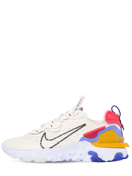 NIKE React Vision Sneakers in white / multi