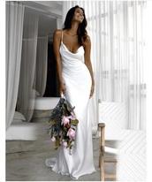 dress,mermaid wedding dress,drop front dress,silk,silk dress,wedding dress,mermaid prom dress,mermaid,backless dress,low back dress