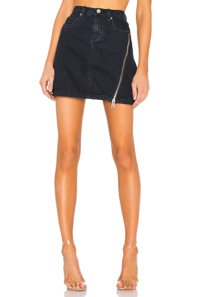BLANKNYC Zipper A-Line Skirt