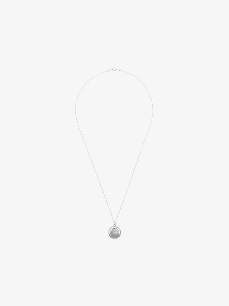 Sasha Samuel sterling silver erin locket necklace in metallic