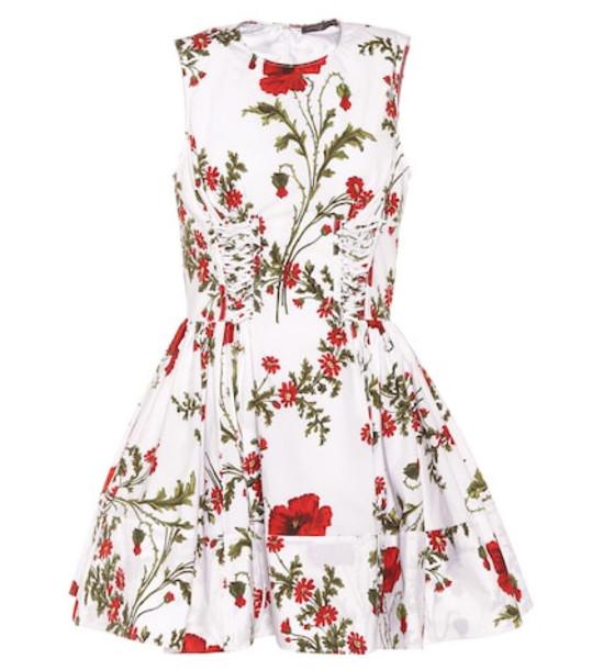 Alexander McQueen Poppyfield cotton dress