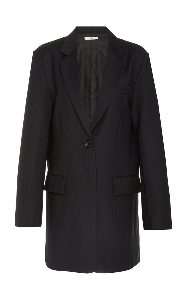 Co Long Blazer in black