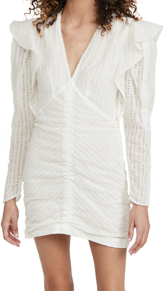 Isabel Marant Getya Dress in white