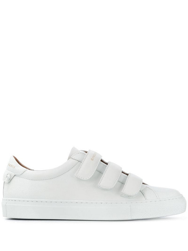 Givenchy logo touch-strap sneakers in white
