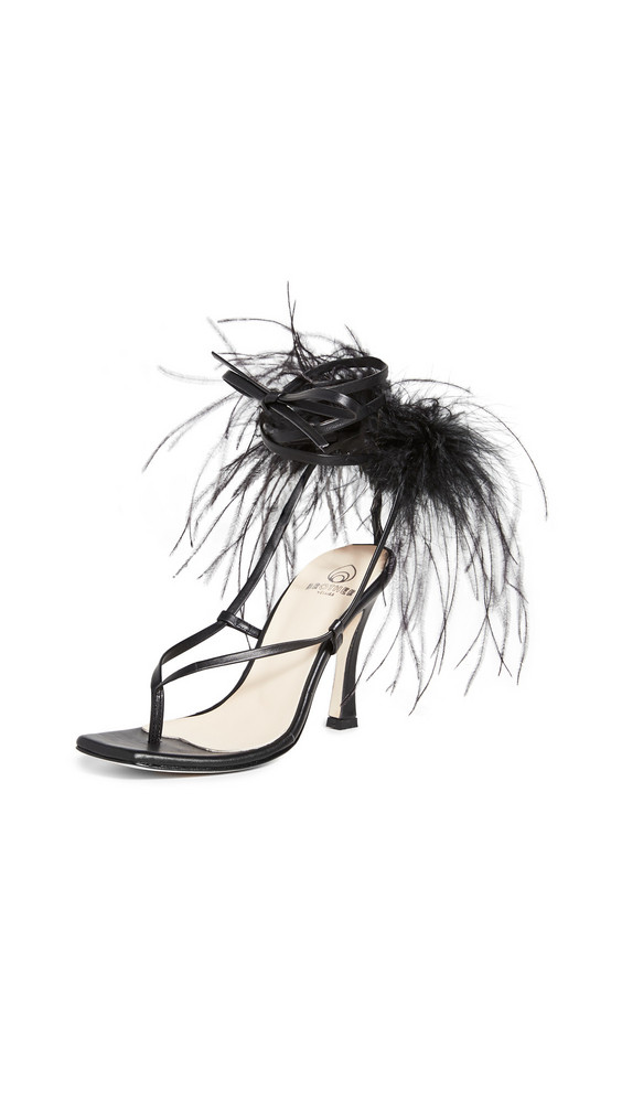 Brother Vellies Paloma Sandals in midnight