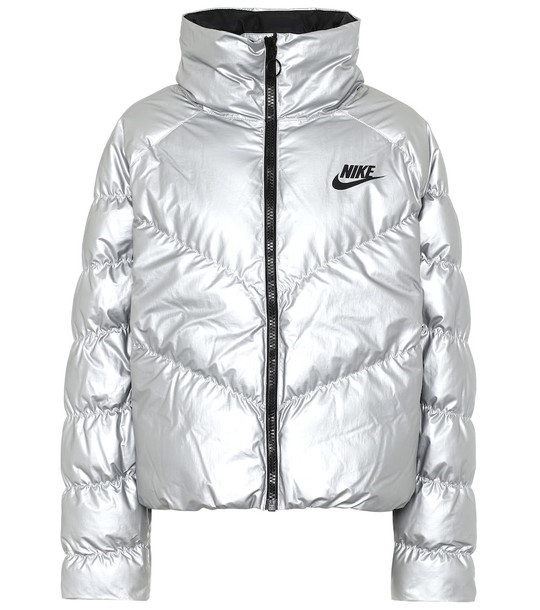 Nike Down jacket in silver