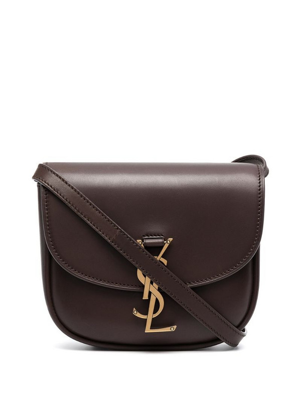Saint Laurent Kaia crossbody bag in brown