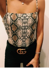 top,bodysuit,pattern