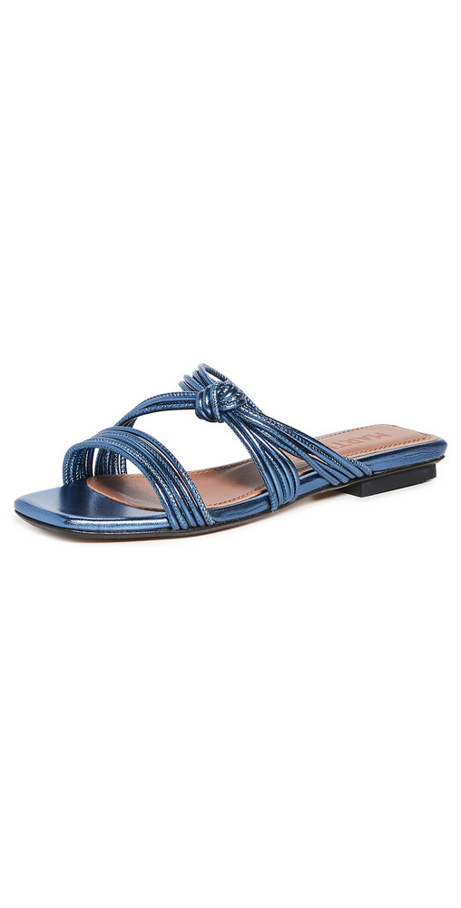 Souliers Martinez Malaga Sandals in denim / denim