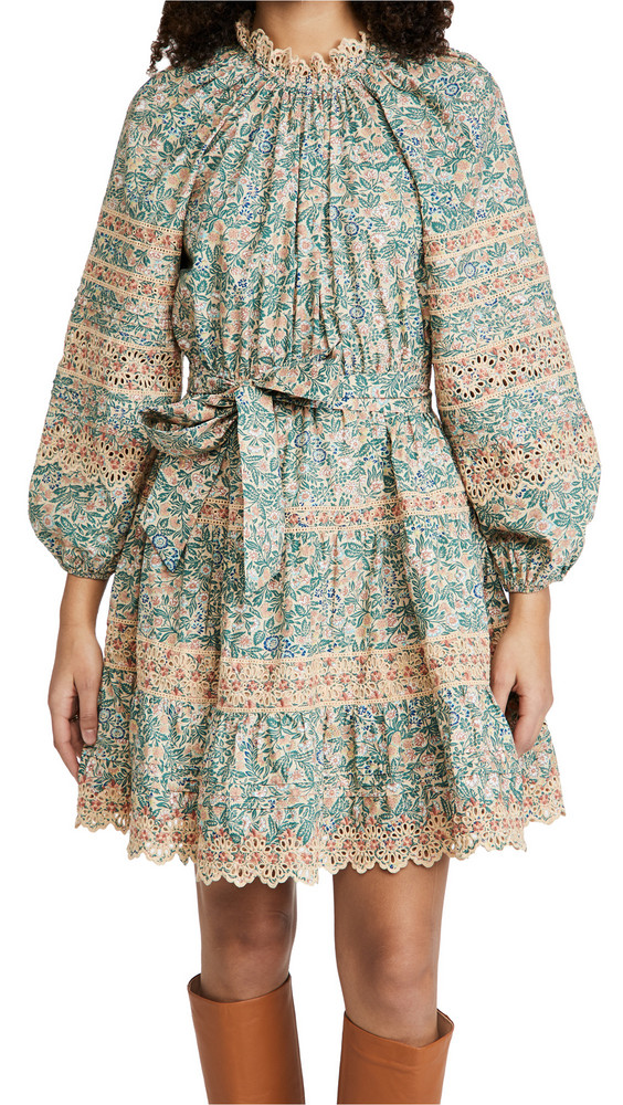 Ulla Johnson Ardith Dress in peach
