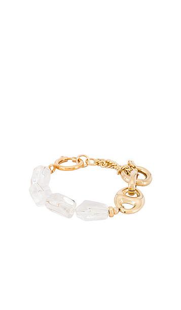 joolz by Martha Calvo Cosmo Bracelet in Metallic Gold